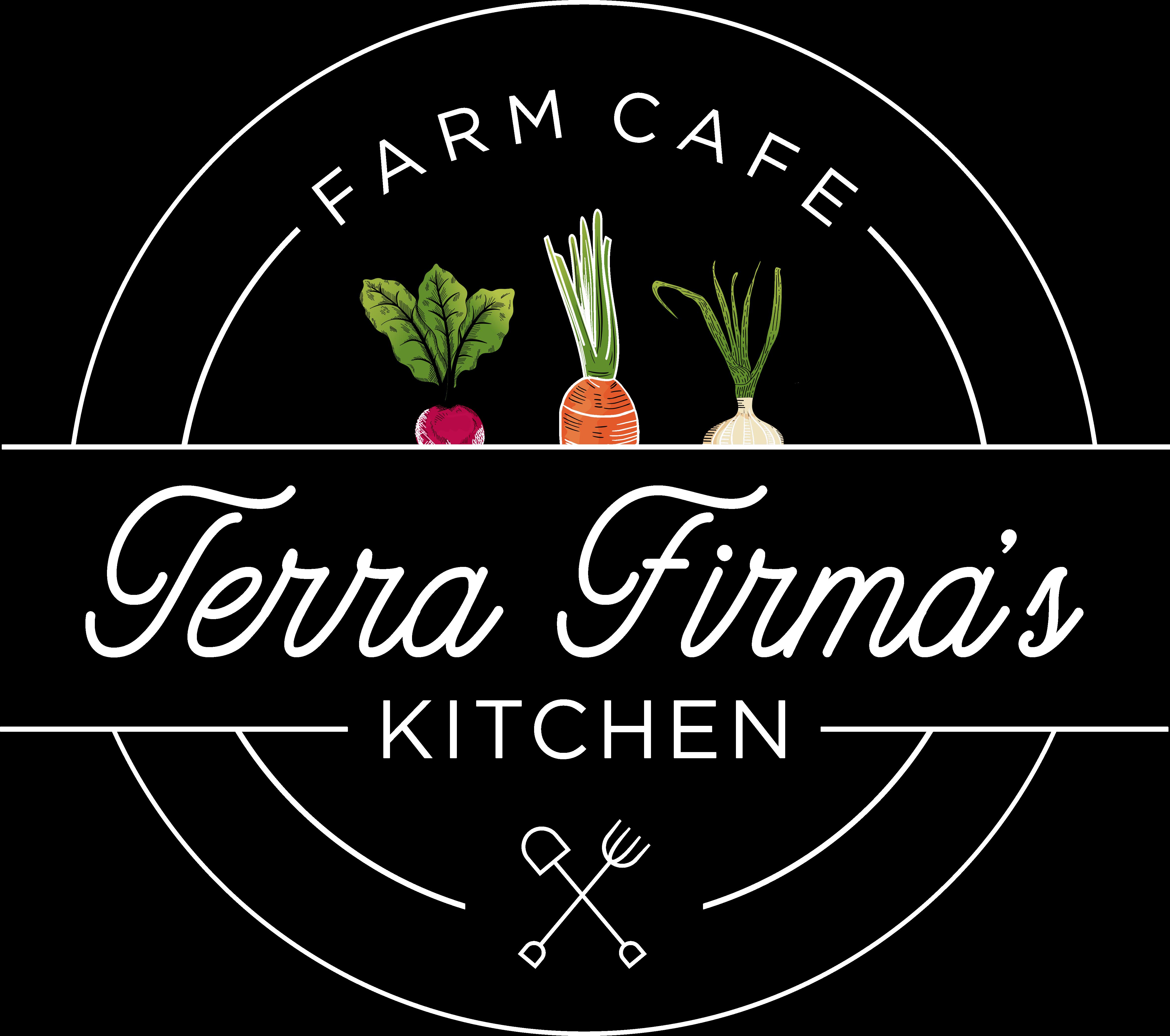 terra firma kitchen logo white